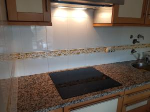 A kitchen or kitchenette at Vila Marachique