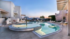 The swimming pool at or near Iliada Villas
