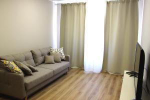 Гостиная зона в Apartamenty v Svetlogorske