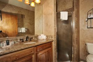 A bathroom at River Run Village by Keystone Resort
