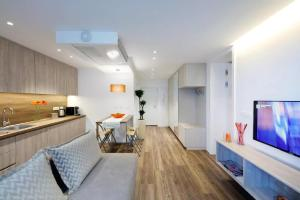 A seating area at ★ Exclusive Central Apartment ★ FREE Garage ★