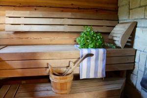 Spa en/of wellnessfaciliteiten van Toominga Seaside Cottage