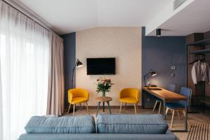 A television and/or entertainment center at Avena by Artery