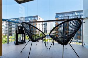 A balcony or terrace at Bed&Bath Boulevard Apartments