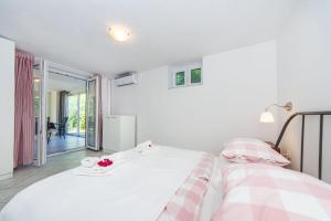 Krevet ili kreveti u jedinici u objektu Apartman Tonko