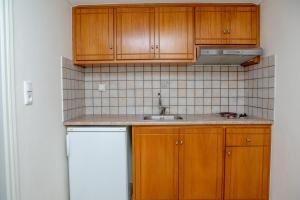 Η κουζίνα ή μικρή κουζίνα στο Golden Bay