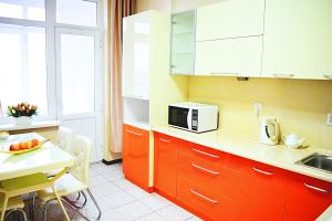 A kitchen or kitchenette at Luxury Palace Apartment