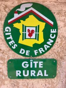 Logo ou pancarte de la maison de vacances