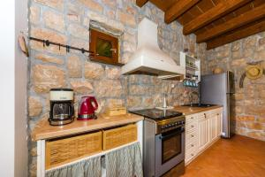 A kitchen or kitchenette at Stone House Knezevic