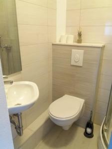 A bathroom at Apartman Elena