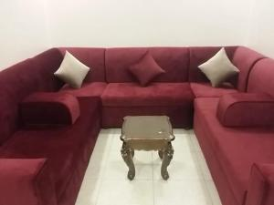 A seating area at Alhan Aparthotel