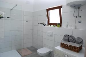 Kúpeľňa v ubytovaní Garden