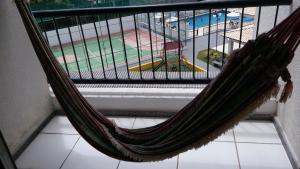 A balcony or terrace at Condominio Port. da cidade Aracaju