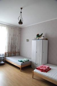 Кровать или кровати в номере Мариэла на Балтийской косе - 200 м до моря