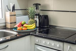 Küche/Küchenzeile in der Unterkunft Casa Ortega y Gasset VT-6393