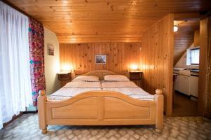 Postelja oz. postelje v sobi nastanitve Apartment Odar