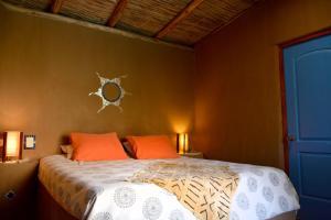 Cama o camas de una habitación en Casa Arun