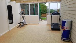 The fitness center and/or fitness facilities at 458 Falmer Road