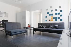 Predel za sedenje v nastanitvi Apartment V8