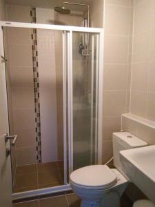 ห้องน้ำของ Dcondo Hyde Chiang Rai by AJ