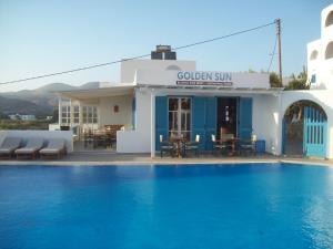The swimming pool at or near Golden Sun