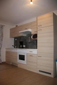Küche/Küchenzeile in der Unterkunft Andrebauernhof