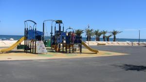 Children's play area at 4 avenue des Muriers de Chine - Résidence Les Jardins de la Clape