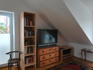 A television and/or entertainment center at Riedenburg - ruhig und zentrumsnah