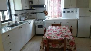 A kitchen or kitchenette at Evdoxias House
