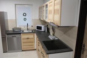 Kuchyň nebo kuchyňský kout v ubytování Vila Marianna