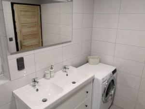 Koupelna v ubytování Vila Marianna