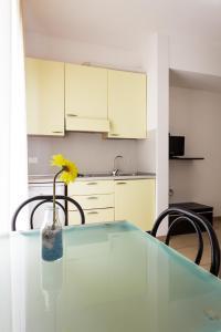 Кухня или мини-кухня в Residence Roxy