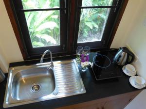 A kitchen or kitchenette at Seagull Villa