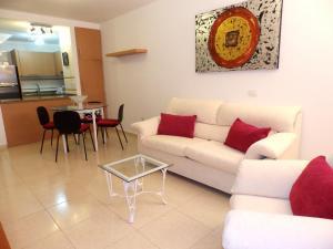 Area soggiorno di Apartamento La Ladera