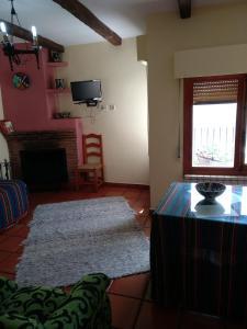 TV/Unterhaltungsangebot in der Unterkunft Apartamentos Turísticos Rural Los Tinaos