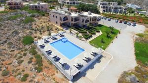 A bird's-eye view of Nanakis Beach Luxury Apartments
