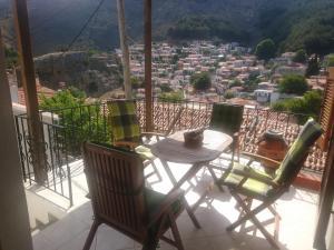 Un balcon sau o terasă la Samothraki