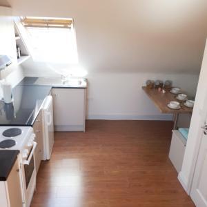 A kitchen or kitchenette at Tigh Aildín