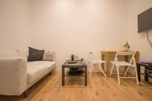 Apartamento Gran Via Centro Madrid休息區