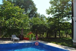 Der Swimmingpool an oder in der Nähe von Villa Aria Private Apartments