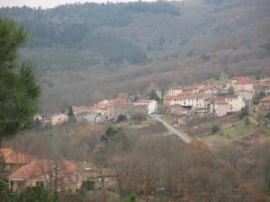 Vue panoramique sur l'établissement Cussac-Bonnemason