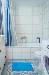 Koupelna v ubytování Downtown Thassos