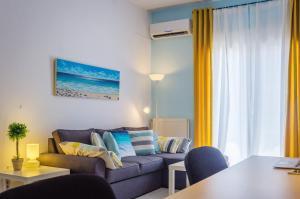 Posezení v ubytování Downtown Thassos