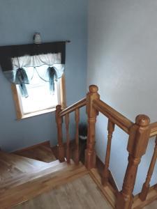 Een bed of bedden in een kamer bij Sunny Terrace