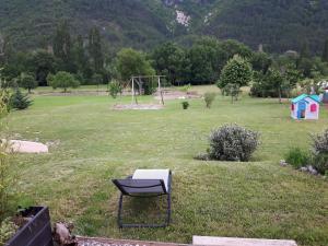 Jardin de l'établissement la petite maison 05