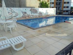 The swimming pool at or near Condominio Port. da cidade Aracaju