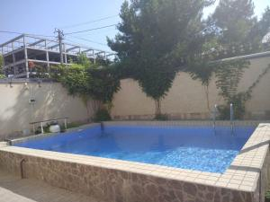 The swimming pool at or near AziaWay Apart-Hotel
