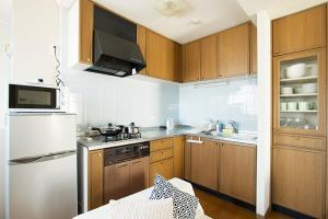 A kitchen or kitchenette at Roppongi Resort House