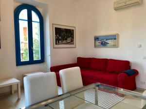 Oleskelutila majoituspaikassa Villa Christina