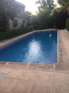 The swimming pool at or near The Madrid Chalet